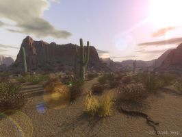 Cactii Canyon by dr-druids
