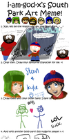 SOUTH PARK MEME 8D by SpiritLeTitan