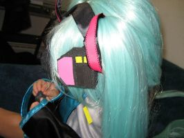 Miku Hatsune Headphones by chinako