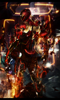 Ironman by v3numb