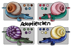 Snailigator - Adoptable OPEN by Adoptierchen