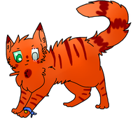 Fireclaw by Sparkylovecupcakes