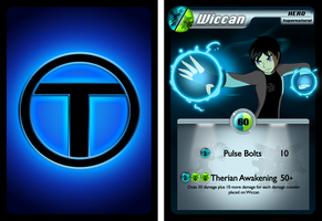 Commission TTOC Card - Wiccan by TheMaskedMystery