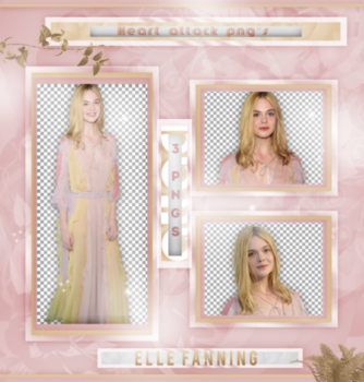+Elle Fanning|Pack Png by Heart-Attack-Png