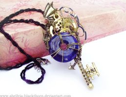 Dragon Key Pendant by Hidden-Treasury