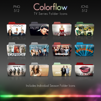 Colorflow TV Folder Icons 8 by Crazyfool16
