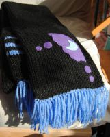 Nightmare Moon Scarf by themagpiesnest