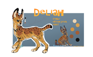 Serval by CaiqueDesigns