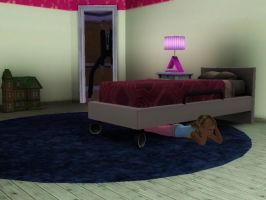 Sims 3 Slenderman (Child Version) by CountingFireFlies