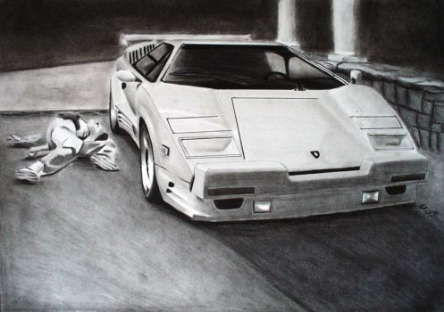 The Wolf of Wall Street Countach 25th Anniversary by svkustom
