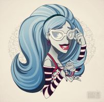 Ghoulia. by asieybarbie