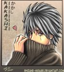 -kakashi colored- for weedow by shizune-mirage