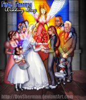 Final Fantasy Wedding Day by DovSherman