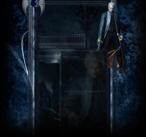 Vergil DMC BG - Comission by artorifreedom