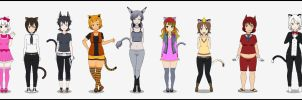 9 Cats by Viehdieb