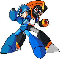 Megaman X vs Bass Pixel Art by DLN-00X
