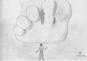 Giantess feet by VRSeverson