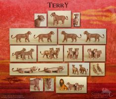Lioness Terry by Strecno