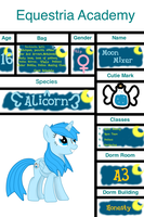Equestria-Academy Application : Moon Mixer by larawrr