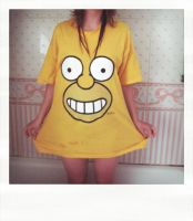 Homer Simpson is love by 6igella