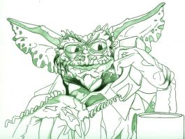 Gremlins - The New Batch - Brain - loose Line art by Gremmy-X