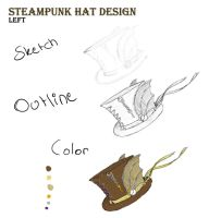 Steampunk Hat Design by Melody68