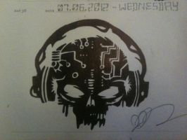 Cyber Skull by Quavicles