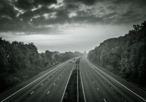Motorway Morning by Wrightam