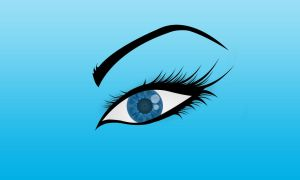 Blue Eye Vector by Khaalil