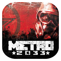 METRO 2033 Game Icon by Wolfangraul