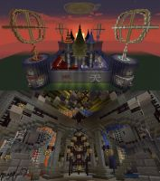 Minecraft Build - [Palace of Four Elements] by RayuEternal