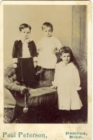 3 children by Glo-Stock-Vintage
