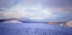 Scottish Highlands, Winter 2014 by younghappy
