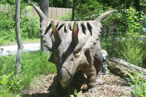 KD Dinosaurs Alive! Kosmoceratops by DinoLover09