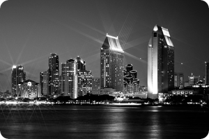San Diego Skyline 02 by MindWinder