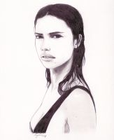 adriana lima by sipries