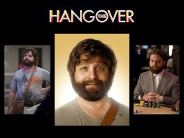 The Hangover Zach Galifianakis by JasonOrtiz