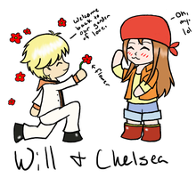 Will and Chelsea by Riuolo