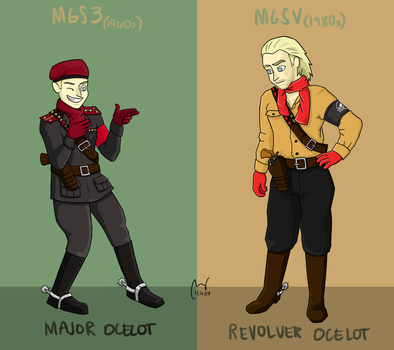 Ocelot by terin814