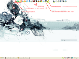 My desktop by masterddd