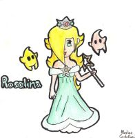 Chibi Princess Rosalina and Luma by HomuPeachy