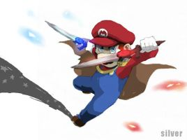 want to give Mario the weapon except for a hammer2 by silver151
