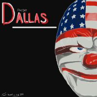 Misc. Drawings/Sketches | Dallas (Payday:TH) by GoldenBlackHawk
