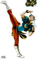 Chun Li color by garnabiuth