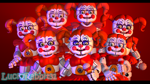 [SFM] The Best Circus Baby(s) ever by LuckyRabbit31