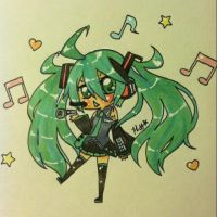 Art Request: Hatsune Miku by kiten326