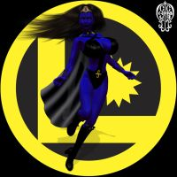 Shadow Lass by Chup-at-Cabra