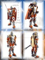 Kaigan, Knight of the Sands. by Mana-Ramp-Matoran