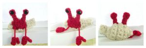 Crochet Hermit Crab by Windowsillcharms
