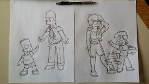 Reworked Bart and Maggie. by simpspin